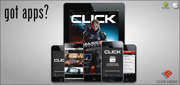 Click Apps for iPhone, Android and iPad